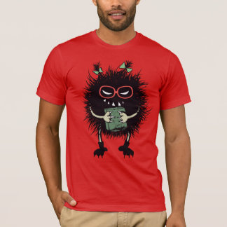 Geek Evil Bug Student Loves Reading Mens T-Shirt