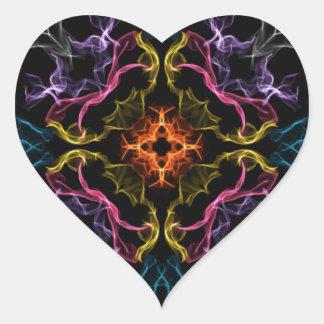 Geek Fantasy Heart Sticker