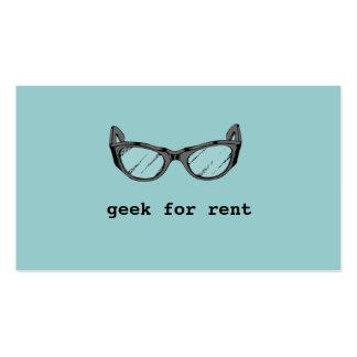 Geek For Rent, Mobile App Developer Business Card