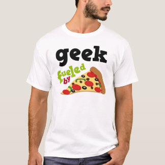 Geek (Funny) Pizza T-Shirt