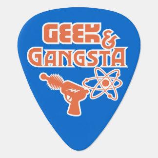 Geek & Gangsta Funny Ray Gun & Atom Symbol Pick