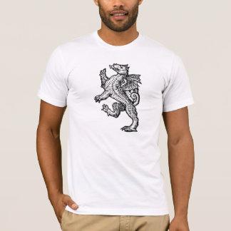 Geek Gift Vintage Dragon T-Shirt