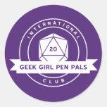 Geek Girl Pen Pals Stickers