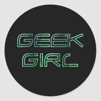 Geek Girl Sticker