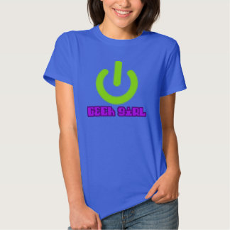 Geek Girl Tshirts