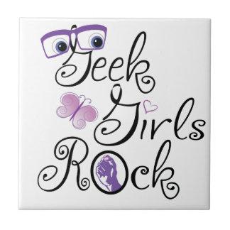 Geek Girls Rock Tile