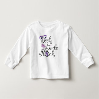 Geek Girls Rock Toddler T-Shirt