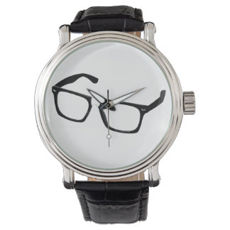 Geek glasses watch