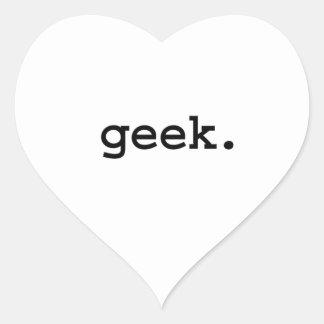 geek. heart sticker