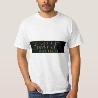 geek hyperfocal distance camera t shirt