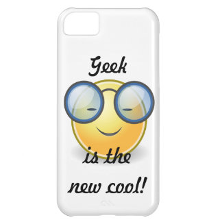 Geek is the New Cool Smiley iPhone5 Barely There Case For iPhone 5C