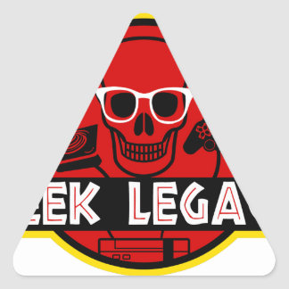 GEEK LEGACY TRIANGLE STICKER