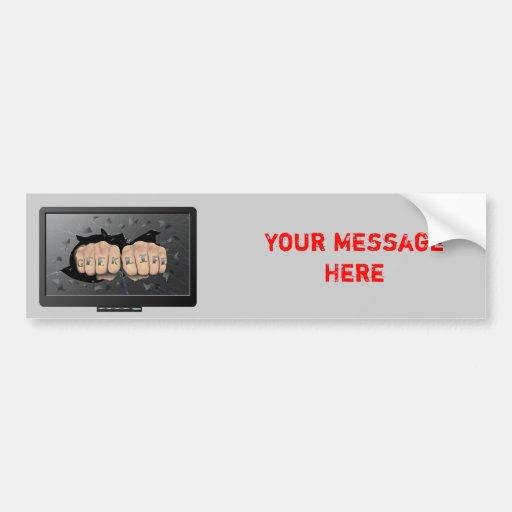 Geek Life Bumper Sticker