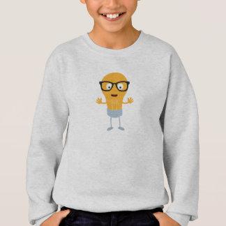 Geek light bulb with glasses Z76fc Sweatshirt