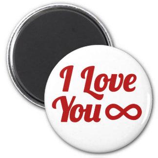 Geek Love 6 Cm Round Magnet