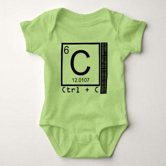 Geek Me! Carbon Copy Baby Bodysuit