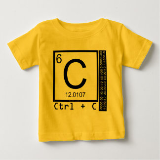 Geek Me! Carbon Copy Baby T-Shirt