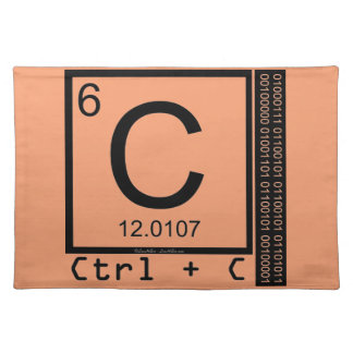 Geek Me! Carbon Copy Placemat