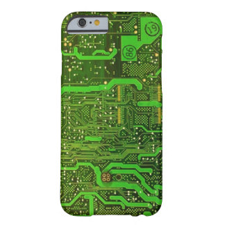 geek microchip pattern iPhone 6 case