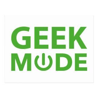 Geek Mode Postcard