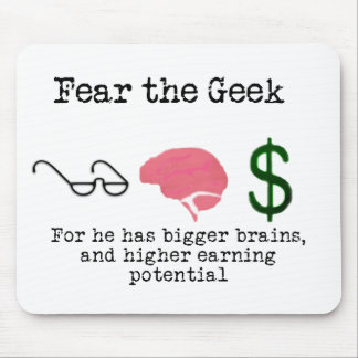 Geek! Mouse Pad