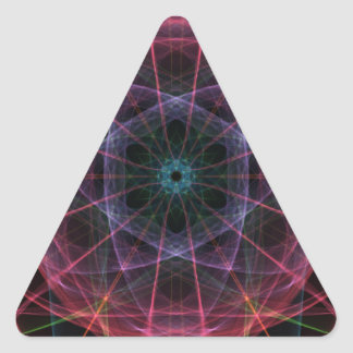 Geek Paradise Triangle Sticker