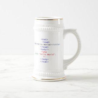 Geek php Greeting Mug