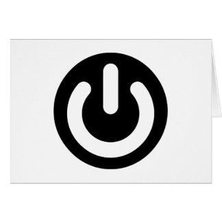 Geek Power Ideology Greeting Card