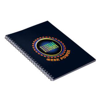 Geek Power Notebooks