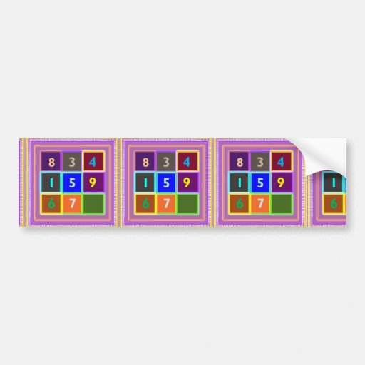 GEEK : Quiz Games for Kids Bumper Stickers
