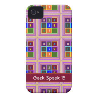 GEEK Quiz Games for Kids iPhone 4 Case-Mate Cases