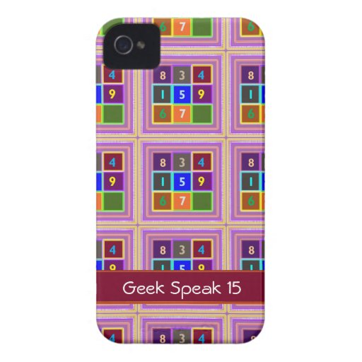 GEEK : Quiz Games for Kids iPhone 4 Case-Mate Cases
