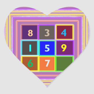 GEEK : Quiz Games for Kids Heart Sticker