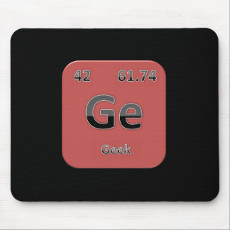Geek Red Mouspad Mouse Pad