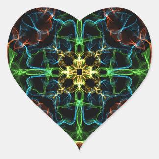 Geek Rose Heart Sticker