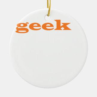 geek round ceramic decoration
