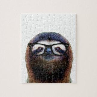 Geek Sloth Jigsaw Puzzle