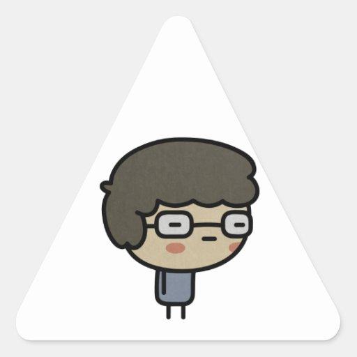 Geek Triangle Sticker