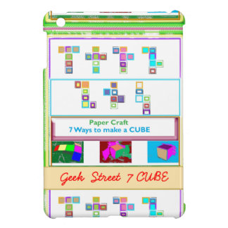 GEEK Street  7 CUBE : Kids Paper Craft Lessons Cover For The iPad Mini