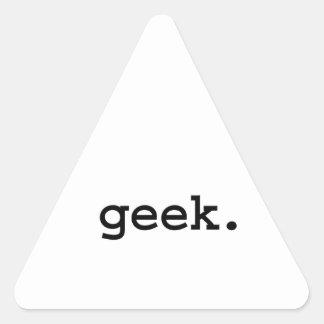 geek. triangle sticker