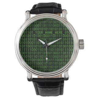 Geek Watch #3 Binary_YOUR_NAME_HERE_