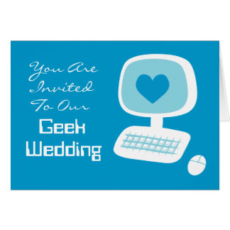 Geek Wedding Invitations