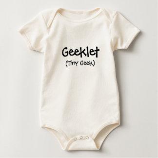 Geeklet, (Tiny Geek) Baby Bodysuit