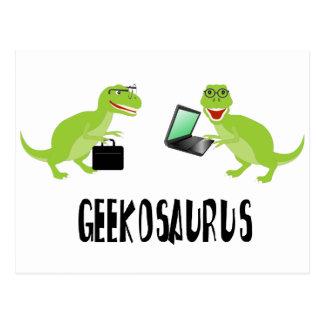 geekosaurus postcard