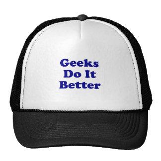 Geeks Do It Better Hats