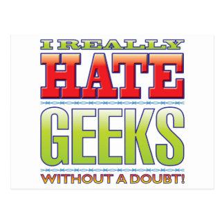 Geeks Hate Postcard