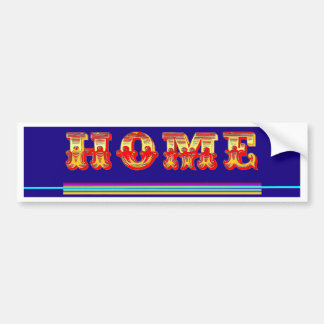 Geeks Home Here Gifts by Sharles Bumper Sticker