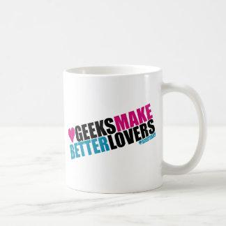 Geeks Make Better Lovers Mugs