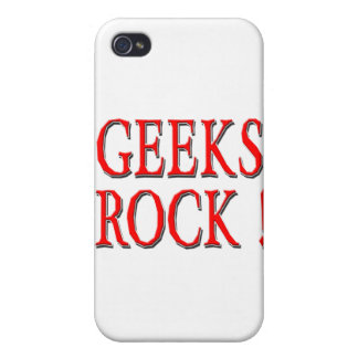 Geeks Rock ! Red iPhone 4/4S Cases