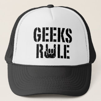 Geeks Rule Trucker Hat